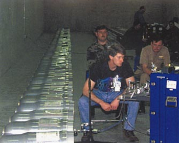 The Air Force has a large inventory of W80-1 warheads. Nearly 2,000 were built, 528 are currently used on the ALCM, and hundreds are in storage at the Kirtland Underground Maintenance and Munitions Storage Complex (KUMMSC) near Kirtland AFB in New Mexico.