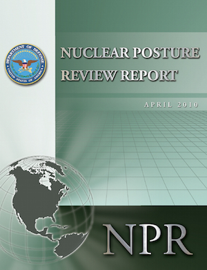 The Nuclear Posture Review and other key policy planning documents advocate reducing role of nuclear weapons.