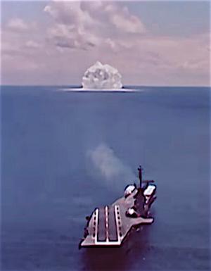 تست دریایی راکت ازراک 1962  تصویر از Hans M. Kristensen برگرفته شده ازfas.org/