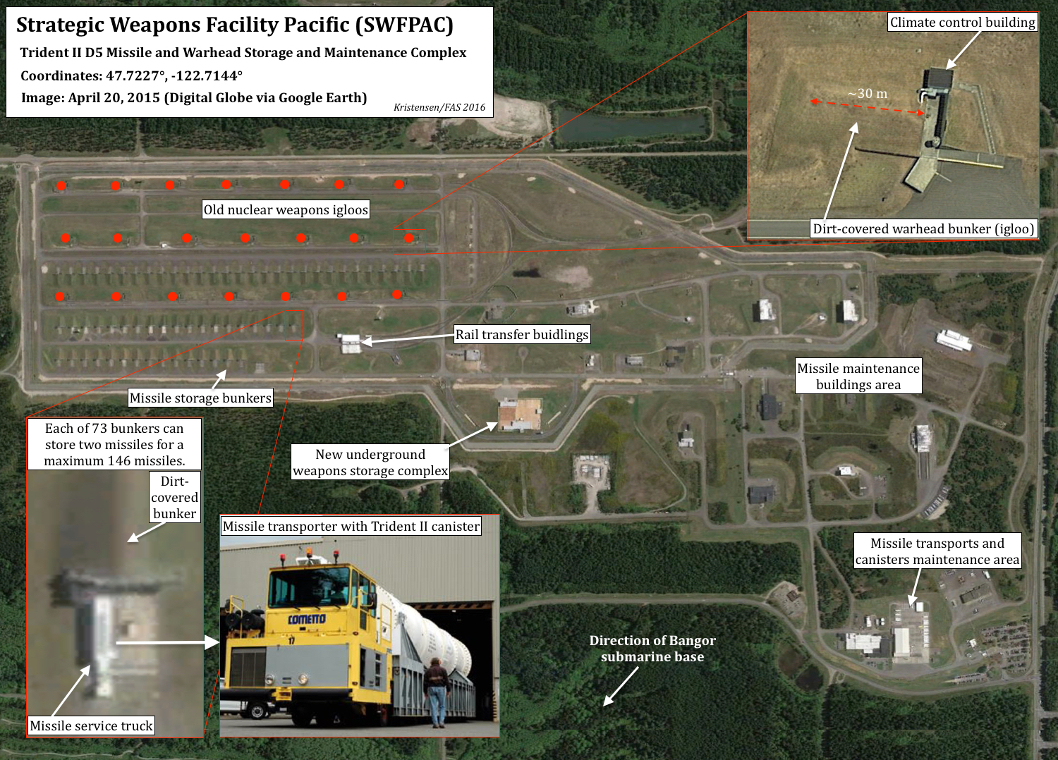 Navy Builds Underground Nuclear Weapons Storage Facility