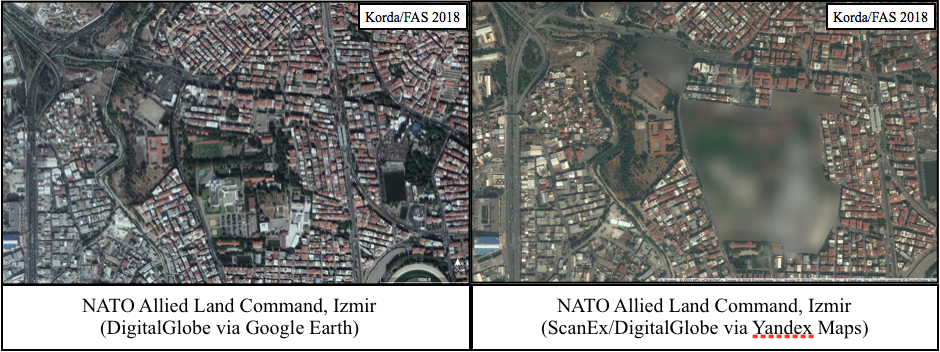 Widespread Blurring of Satellite Images Reveals Secret ... on south eastern europe, map of western europe, linguistic map eastern europe, division between eastern and western europe, international mapquest europe, detailed map eastern europe, aerial map of europe, all oceans in europe, mapquest eastern europe, poorest countries in eastern europe, road map eastern europe, jerusalem on map of europe, maps of south east europe, google map middle east countries, google road map europe, map of eastern europe, rivers of eastern europe, central eastern europe, printable map of europe, large blank map of europe,