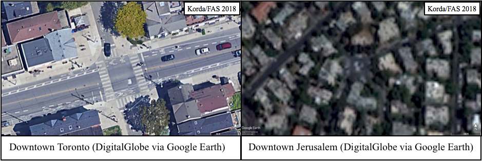 Widespread Blurring of Satellite Images Reveals Secret ...