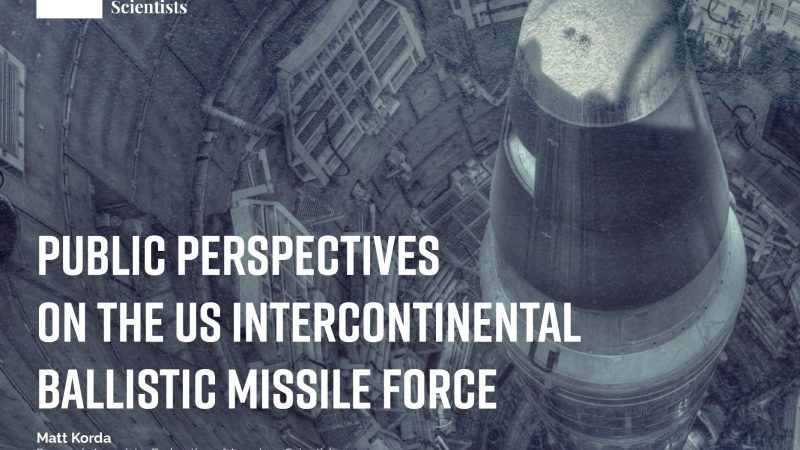 Public Perspectives on the US Intercontinental Ballistic Missile Force