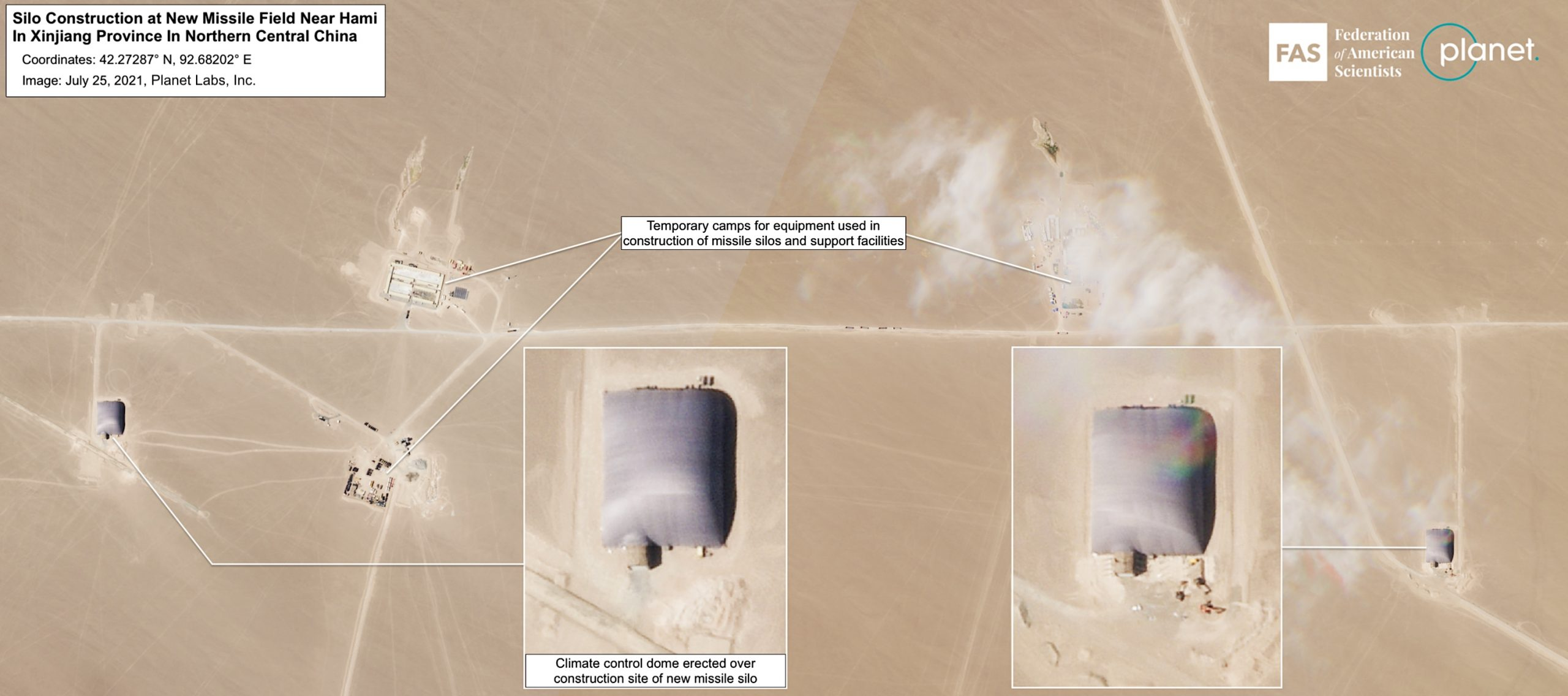 Chinese missile silos