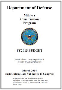 DOD budget document says expensive security upgrades are needed for nuclear bases in Europe.