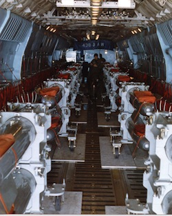 Air transport of nuclear weapons